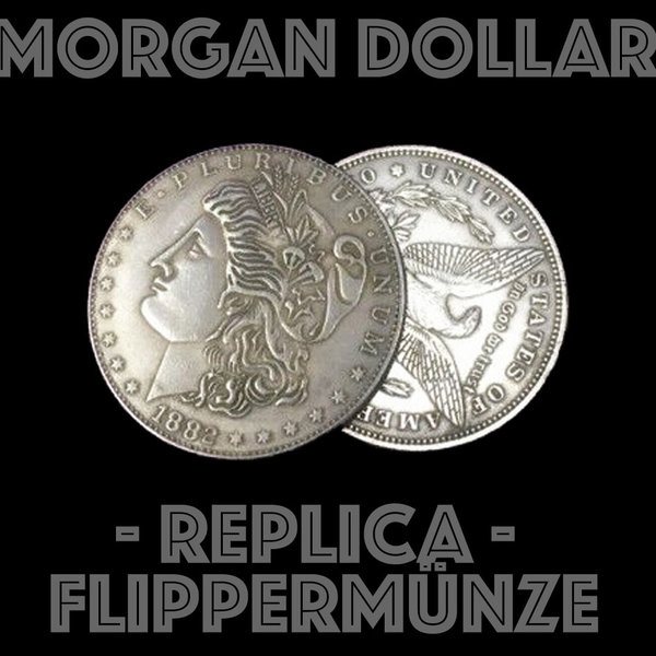 Morgan Dollar Replica Flippermünze