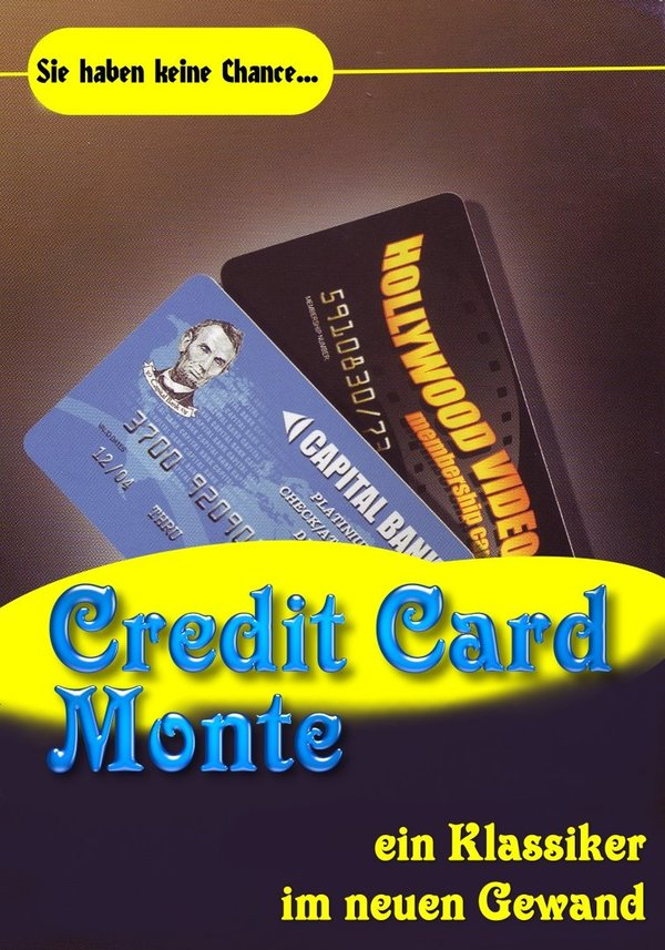 Credit Card Monte