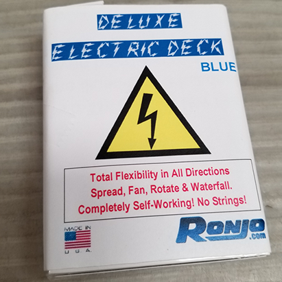 Deluxe Electric Deck (Bicycle blaue Rückseite)