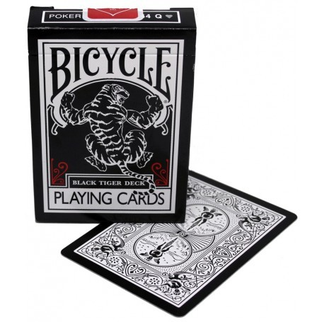 Bicycle Black Tiger Deck