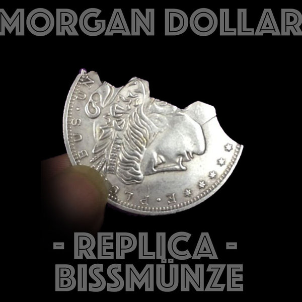 Morgan Dollar Replica Bissmünze