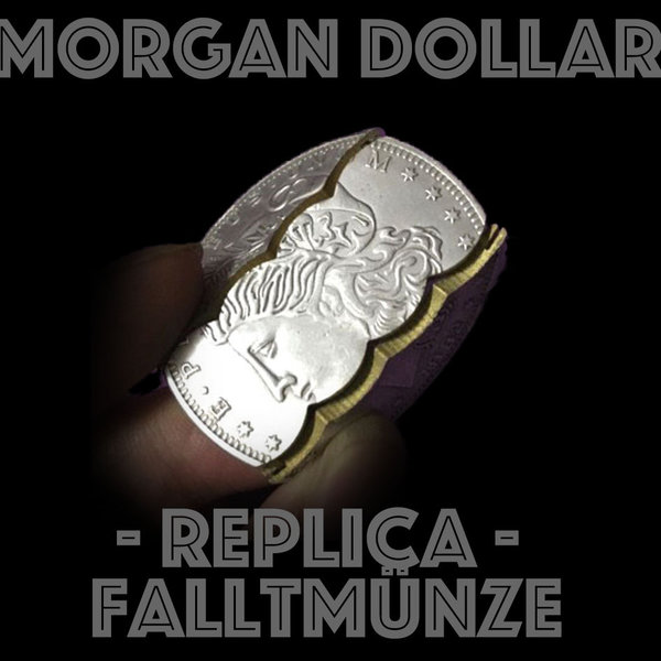 Morgan Dollar Replica Faltmünze